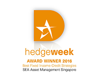 Hedgeweek Award Winnder 2016 Best Fixed Income Credit Strategies